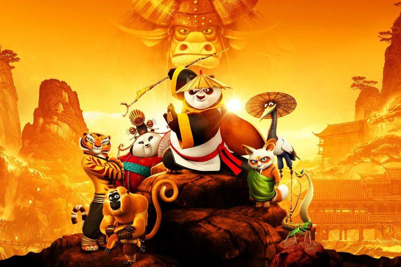 học tiếng Anh bằng phim Kungfu Panda 3